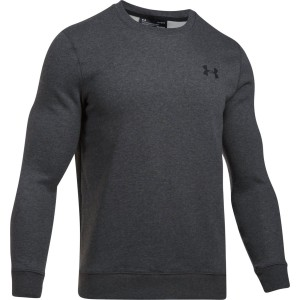 Bluza UNDER ARMOUR Rival Solid Fitted Crew grafit-090