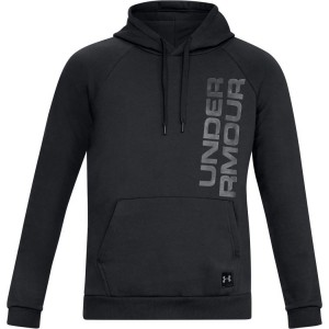 Bluza z kapturem UNDER ARMOUR Rival Fleece Script Hoody black-001