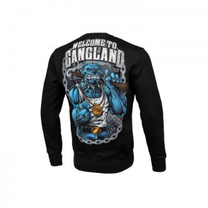 Bluza PIT BULL WEST COAST Welcome to Gangland 19 Czarna