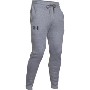 Spodnie UNDER ARMOUR Rival Cotton Jogger szary-025