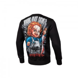 Bluza PIT BULL WEST COAST Wanna Play Games 19 Black
