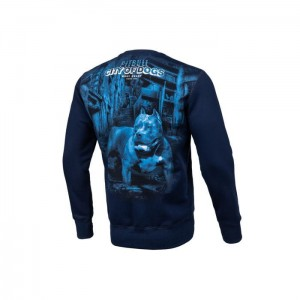 Bluza PIT BULL WEST COAST City Of Dogs 19 Granatowa
