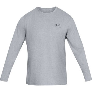 Longsleeve UNDER ARMOUR Left Chest gray-036
