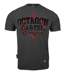 T-shirt OCTAGON Cartel graphite
