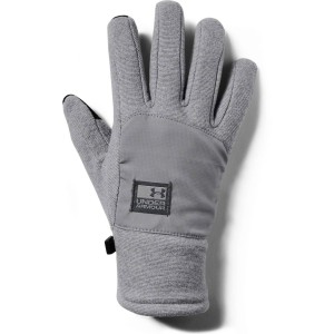 Rękawiczki UNDER ARMOUR Men's CGI Fleece Glove szare -035