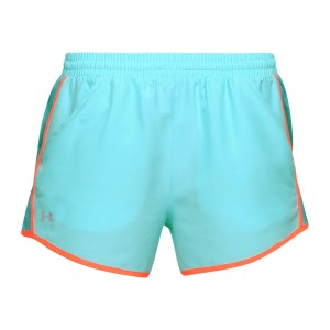 Szorty damskie UNDER ARMOUR Fly By Short niebieski-425