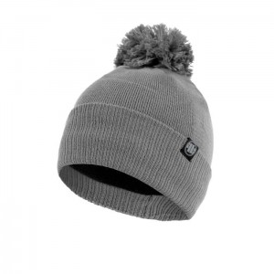 Czapka PIT BULL WEST COAST BOBBLE  SMALL LOGO GREY
