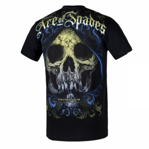 T-shirt PIT BULL WEST COAST Ace Of Spades black