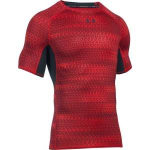 Rashguard UNDER ARMOUR Printed czerwony-603