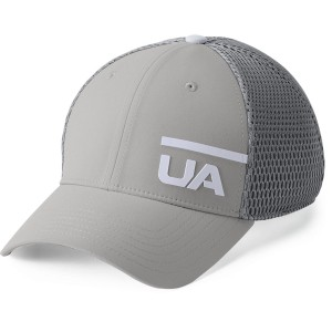 Czapka UNDER ARMOUR Men's Train Spacer Mesh Cap szary-558