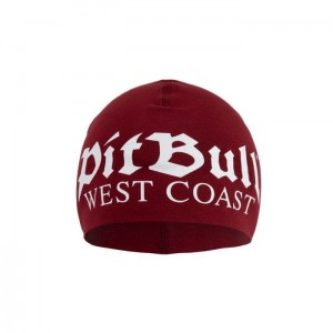 Czapka PIT BULL WEST COAST Old Logo 19 Burgundowa