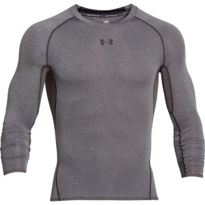 Rashguard UNDER ARMOUR  HG LS COMP ciemnoszary-090