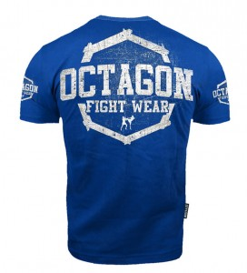 T-shirt Octagon Fight Wear II blue