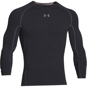 Rashguard UNDER ARMOUR ARMOUR HG LS COMP czarny-001