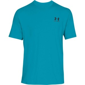 T-shirt UNDER ARMOUR Sportstyle Left Chest SS niebieski-439