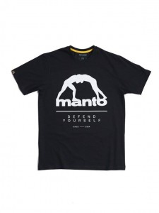 MANTO t-shirt DEFEND 2.0 czarny