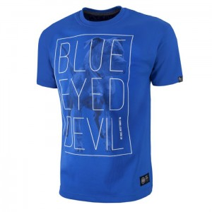 T-shirt PIT BULL WEST COAST Blue Eyed Devil 18/2 royal blue
