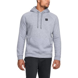 Bluza z kapturem UNDER ARMOUR Rival Fleece PO Hoddie szary-036