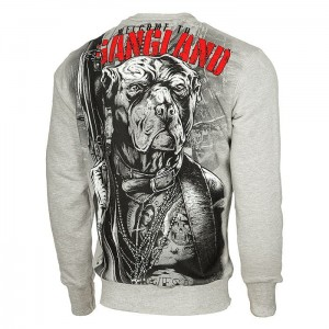 Bluza PIT BULL WEST COAST Welcome To Gangland grey