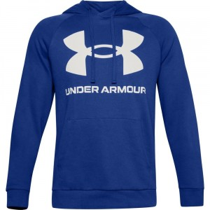 Bluza z kapturem UNDER ARMOUR Sportstyle Terry BIG Logo Hoodie -584)
