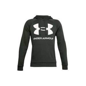 Bluza z kapturem UNDER ARMOUR Sportstyle Terry BIG Logo Hoodie ZGNITA ZIELEŃ