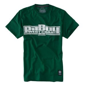 T-shirt PIT BULL WEST COAST Pitbull 16 b.green