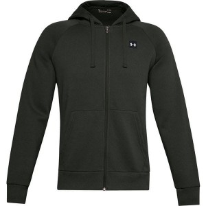 Bluza UNDER ARMOUR RIVAL FLEECE FZ HOODIE ZGNITA ZIELEŃ 111-310