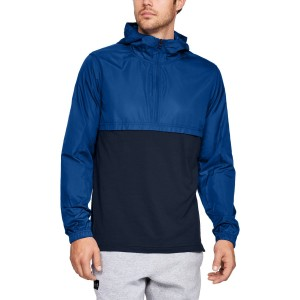 Kurtka UNDER ARMOUR Wind Anorak niebieska-400
