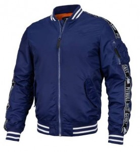 Kurtka Bomber PIT BULL WEST COAST SAND DRIFT DARK NAVY