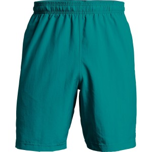 Spodenki UNDER ARMOUR Woven Graphic Short zielony-381