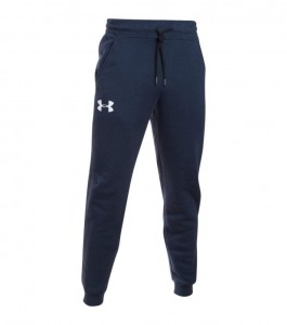 Spodnie UNDER ARMOUR Rival Cotton Jogger granatowy-410