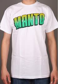 MANTO t-shirt ATHLETIC BIAŁY