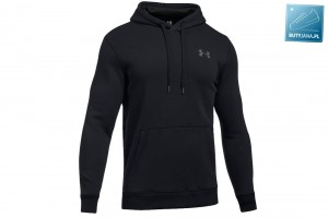 BLUZA Z KAPTUREM Under Armour Rival Fitted Pull Over 292-001