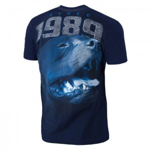 T-shirt PIT BULL WEST COAST Fighter dark navy