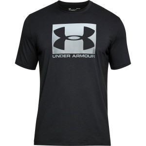 T-shirt UNDER ARMOUR Boxed Sportstle SS czarny-001