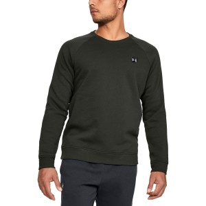 Bluza UNDER ARMOUR Rival Fleece Crew khaki-357