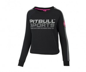 Bluza damska PIT BULL WEST COAST ATHLETICA BLACK