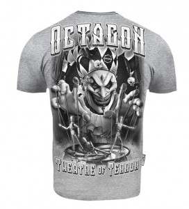 T-shirt Octagon Theatre Of Terror melange