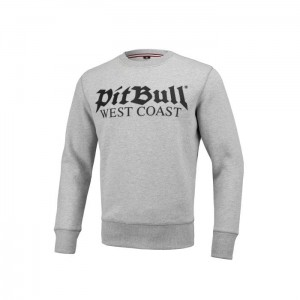 Bluza PIT BULL WEST COAST OLD LOGO GREY MELANGE