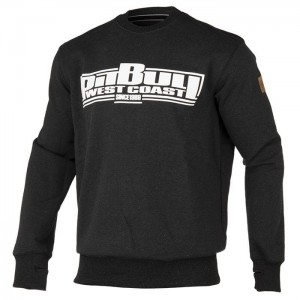 Bluza PIT BULL WEST COAST Classic Boxing charcoal mel.