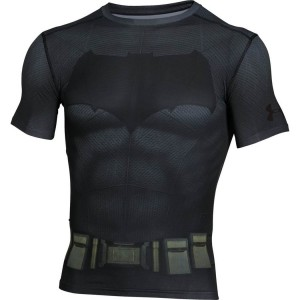 Rashguard UNDER ARMOUR Batman Suit SS