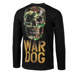 Longsleeve PIT BULL WEST COAST War Dog black