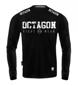 Longsleeve Męski Octagon Fight Wear black