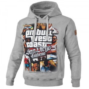 Bluza z kapturem PIT BULL WEST COAST Most Wanted