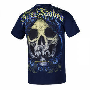T-shirt PIT BULL WEST COAST Ace Of Spades navy