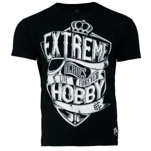 T-shirt EXTREME HOBBY Shield black