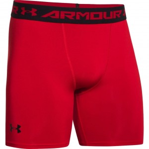 Spodenki UNDER ARMOUR Heatgear Armour Compression Short red