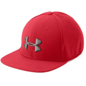 Czapka UNDER ARMOUR Men's Huddle Snapback czerwony-600