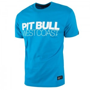 T-shirt PIT BULL WEST COAST TNT surfer blue