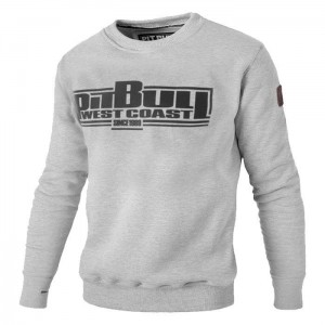 Bluza PIT BULL WEST COAST Classic Boxing18 grey